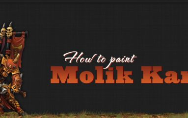 How to Paint Molik Karn – Skorne Heavy Warbeast