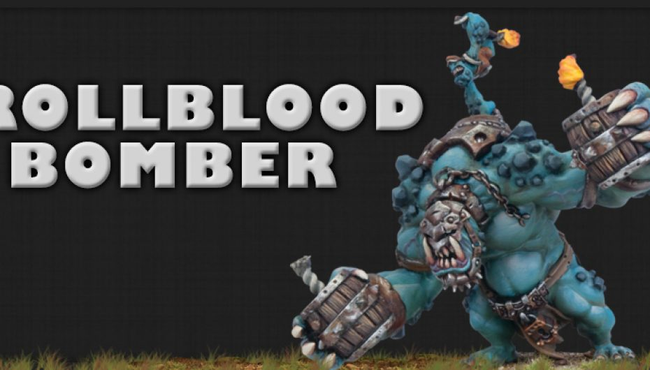 How to paint a Trollblood Bomber