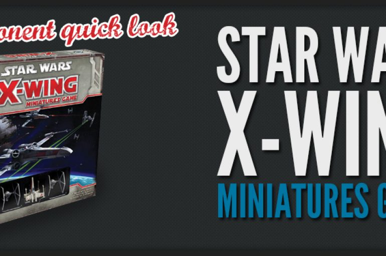 Star Wars, X-WING starters sets