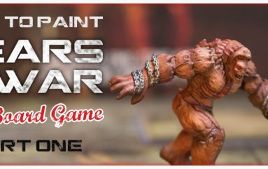 How to paint Gears of war the board game