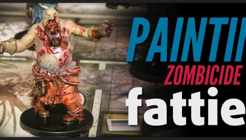 How to paint Zombicide Fatties